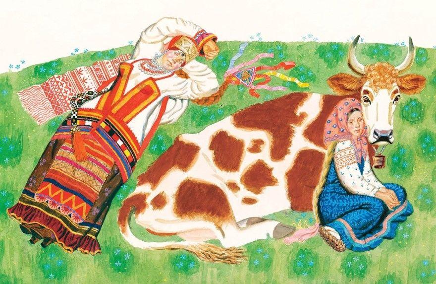 Крошечка-Хаврошечка русская народная сказка для детей