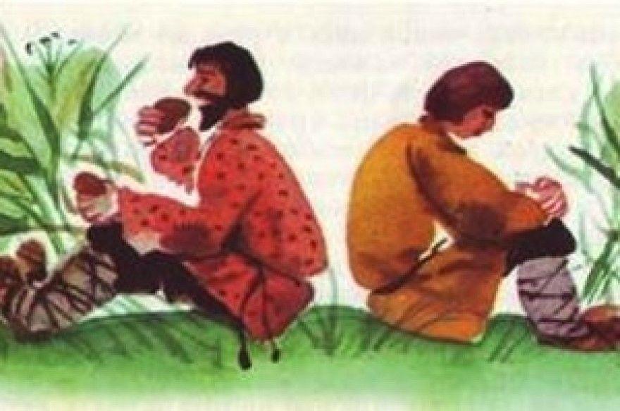 Правда Кривда русская народная сказка для детей