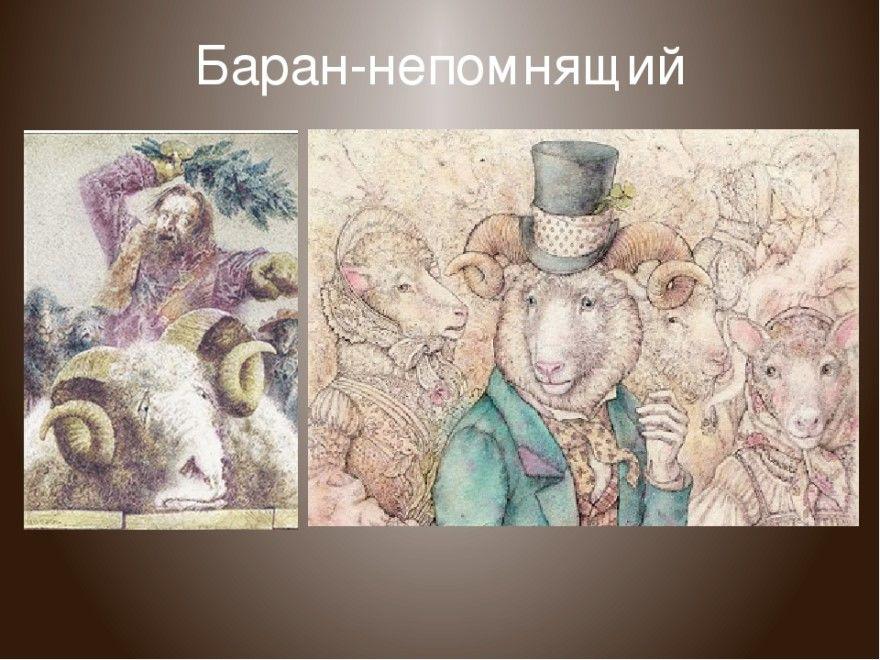 Читать сказку Салтыков Щедрин Баран-непомнящий бесплатно онлайн