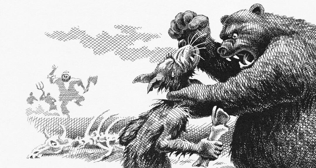 Читать сказку Салтыков Щедрин Бедный волк бесплатно онлайн