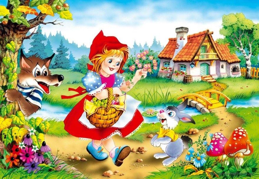 Читать сказку Шарль Перро Красная Шапочка для детей
