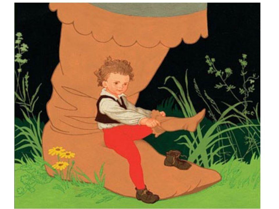 Читать сказку Шарль Перро Мальчик с пальчик для детей