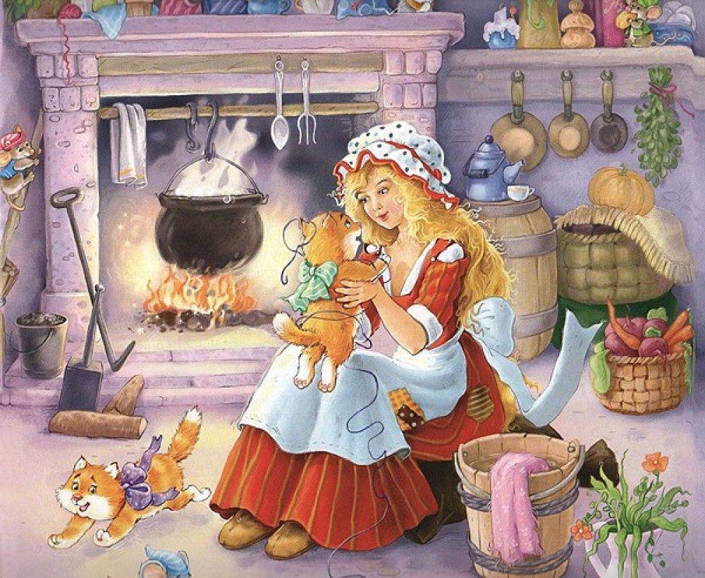 Читать сказку Шарль Перро Золушка для детей