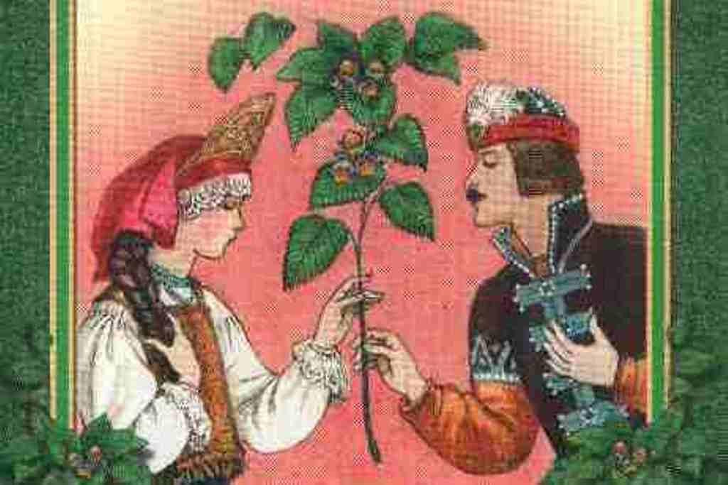 Читать сказка Ореховая ветка Толстой скачать