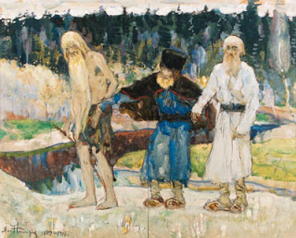 Читать рассказ Три старца Толстой бесплатно онлайн