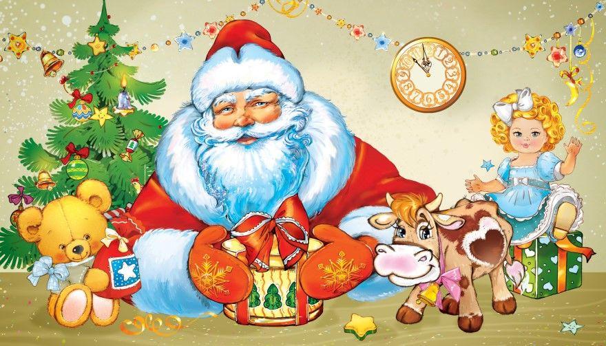 Стихи Новый год для детей 4 лет малышей